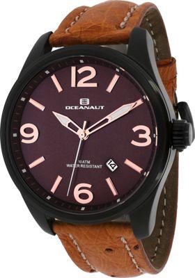 Oceanaut Watches Men's Military Watch Brown - Oceanaut Watches Watches