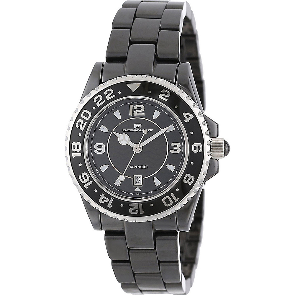 Oceanaut Watches Women s Ceramic Watch Black Oceanaut Watches Watches