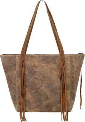 TrueLu The Scarlett Tote Dark Honey - TrueLu Leather Handbags