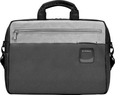 Everki ContemPRO Commuter 15.6 inch Laptop Briefcase Black - Everki Laptop Messenger Bags