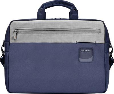 Everki ContemPRO Commuter 15.6 inch Laptop Briefcase Navy - Everki Laptop Messenger Bags