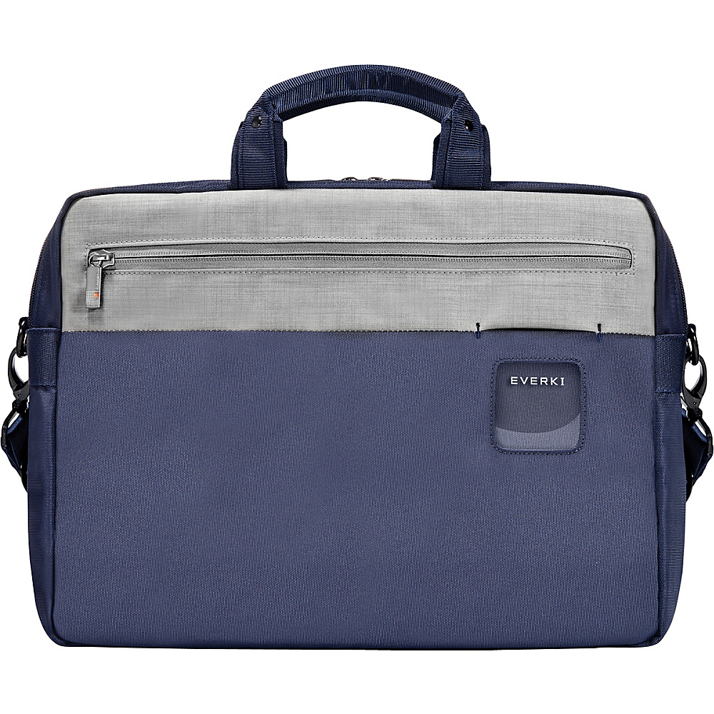 Everki ContemPRO Commuter 15.6 Laptop Briefcase Navy Everki Laptop Messenger Bags