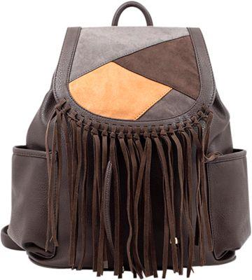 Like Dreams Gloria Backpack Dark Brown - Like Dreams Manmade Handbags