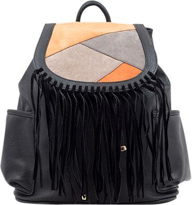 Like Dreams Gloria Backpack Black - Like Dreams Manmade Handbags