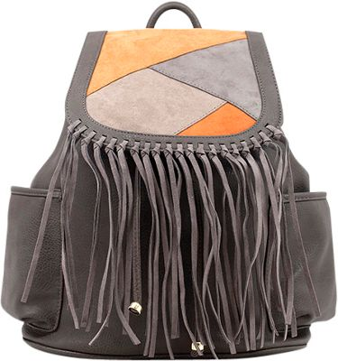 Like Dreams Gloria Backpack Grey - Like Dreams Manmade Handbags