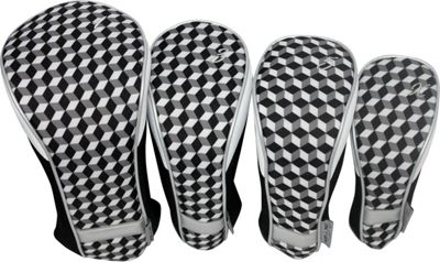 Taboo Fashions 4-Piece Club Cover Set Mind Maze - Taboo Fashions Golf Bags