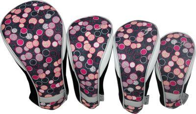 Taboo Fashions 4-Piece Club Cover Set Poppin' Bottles - Taboo Fashions Golf Bags