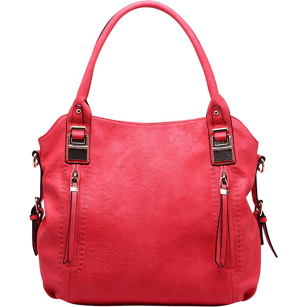 MKF Collection by Mia K. Farrow Tova Handbag Red - MKF Collection by Mia K. Farrow Manmade Handbags - Handbags, Manmade Handbags