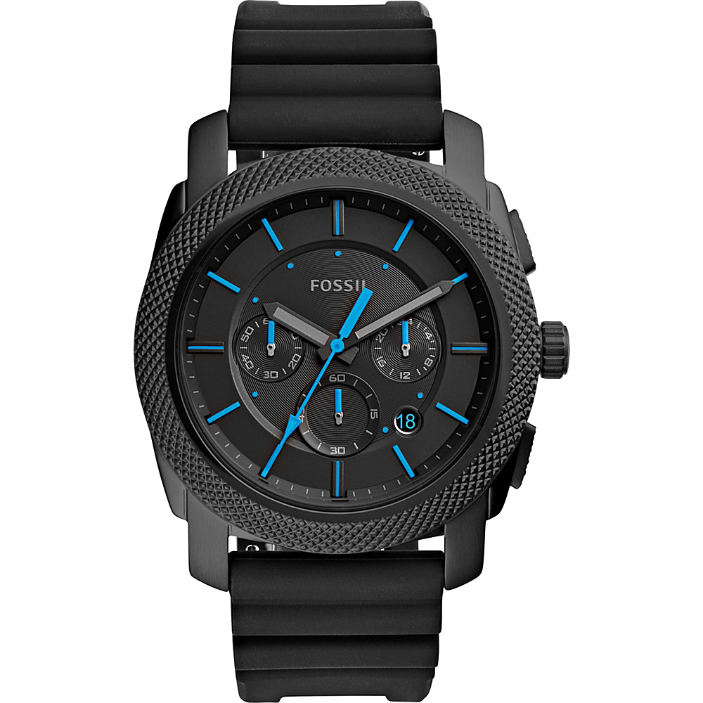 Fossil Machine Chronograph Watch Black - Fossil Watches - Fashion Accessories, Watches