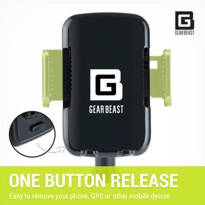 Gear Beast Cup Holder Phone Mount Black - Gear Beast Sports Accessories
