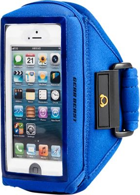 Gear Beast iPhone 5/SE Case Compatible Armband Blue - iPhone SE/5 - Gear Beast Electronic Cases