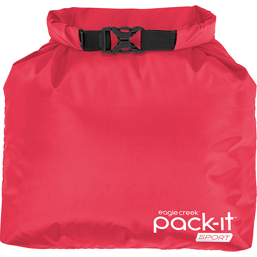 Eagle Creek Pack-It Sport Roll Top Sac Fuchsia/Black - Eagle Creek Sports Accessories - Sports, Sports Accessories
