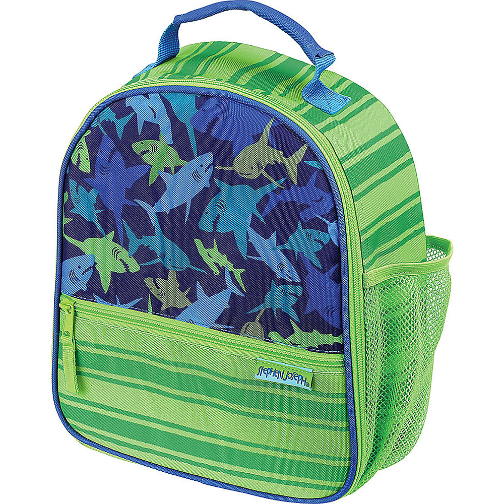 Stephen Joseph All Over Print Lunchbox Shark - Stephen Joseph Travel Coolers - Travel Accessories, Travel Coolers