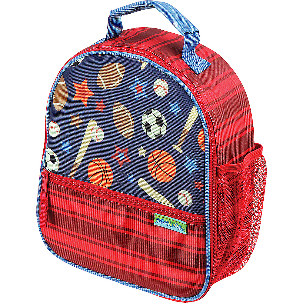 Stephen Joseph All Over Print Lunchbox Sports - Stephen Joseph Travel Coolers - Travel Accessories, Travel Coolers