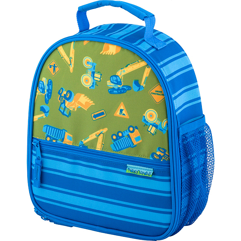 Stephen Joseph All Over Print Lunchbox Construction - Stephen Joseph Travel Coolers - Travel Accessories, Travel Coolers