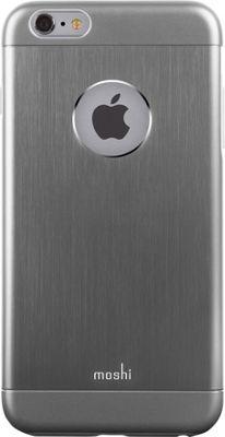 MOSHI iGlaze Armour iPhone 6 Plus Phone Case Gray - MOSHI Electronic Cases