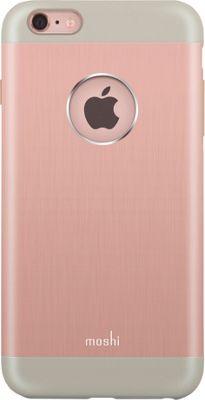 MOSHI iGlaze Armour iPhone 6 Plus Phone Case Rose Gold - MOSHI Electronic Cases