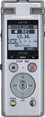 Olympus 4GB Digital Voice Recorder Gray - Olympus Portable Entertainment