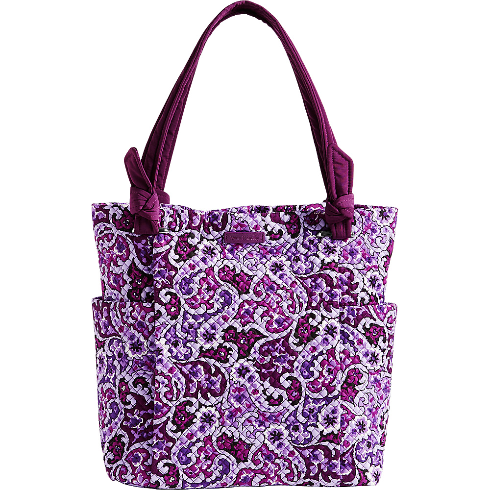 Vera Bradley Hadley Tote Lilac Paisley - Vera Bradley Fabric Handbags - Handbags, Fabric Handbags