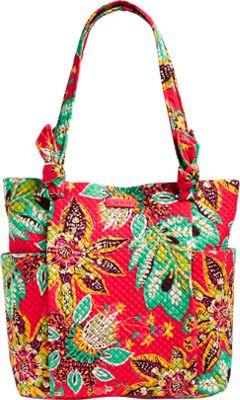 Vera Bradley Hadley Tote Rumba - Vera Bradley Fabric Handbags