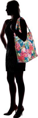 Vera Bradley Hadley Tote Falling Flowers - Vera Bradley Fabric Handbags