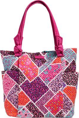 Vera Bradley Hadley Tote Modern Medley - Vera Bradley Fabric Handbags