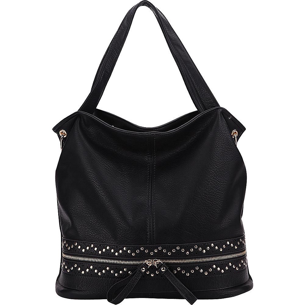 MKF Collection by Mia K. Farrow Alpine Handbag Black - MKF Collection by Mia K. Farrow Manmade Handbags - Handbags, Manmade Handbags
