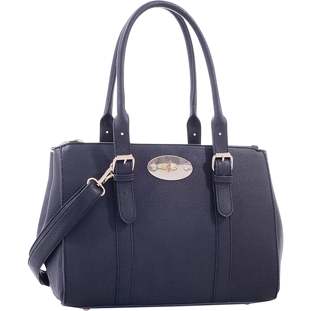 MKF Collection Florence Satchel Black - MKF Collection Manmade Handbags - Handbags, Manmade Handbags