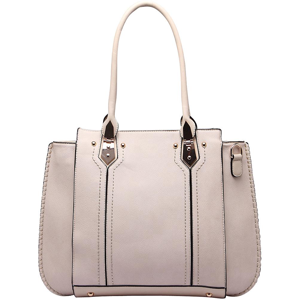 MKF Collection by Mia K. Farrow Cora Shoulder Bag Beige - MKF Collection by Mia K. Farrow Manmade Handbags - Handbags, Manmade Handbags