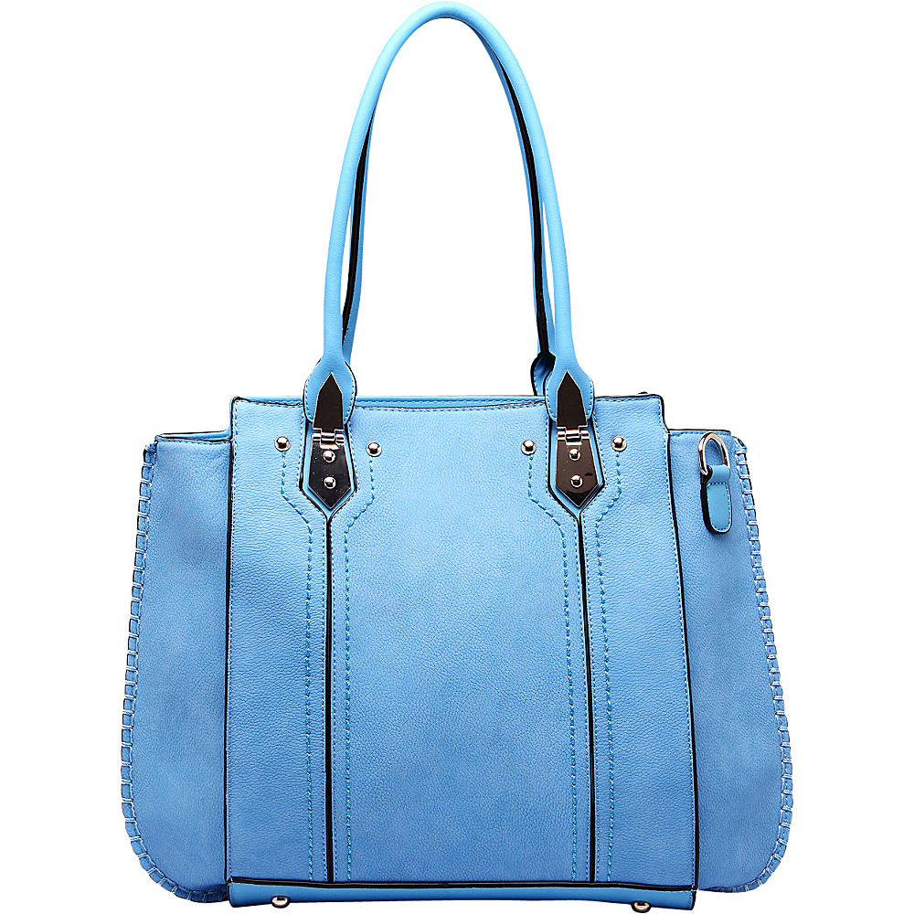 MKF Collection Cora Shoulder Bag Blue - MKF Collection Manmade Handbags - Handbags, Manmade Handbags