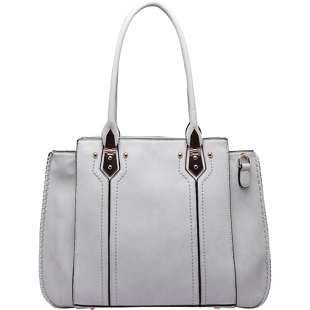 MKF Collection Cora Shoulder Bag Grey - MKF Collection Manmade Handbags - Handbags, Manmade Handbags