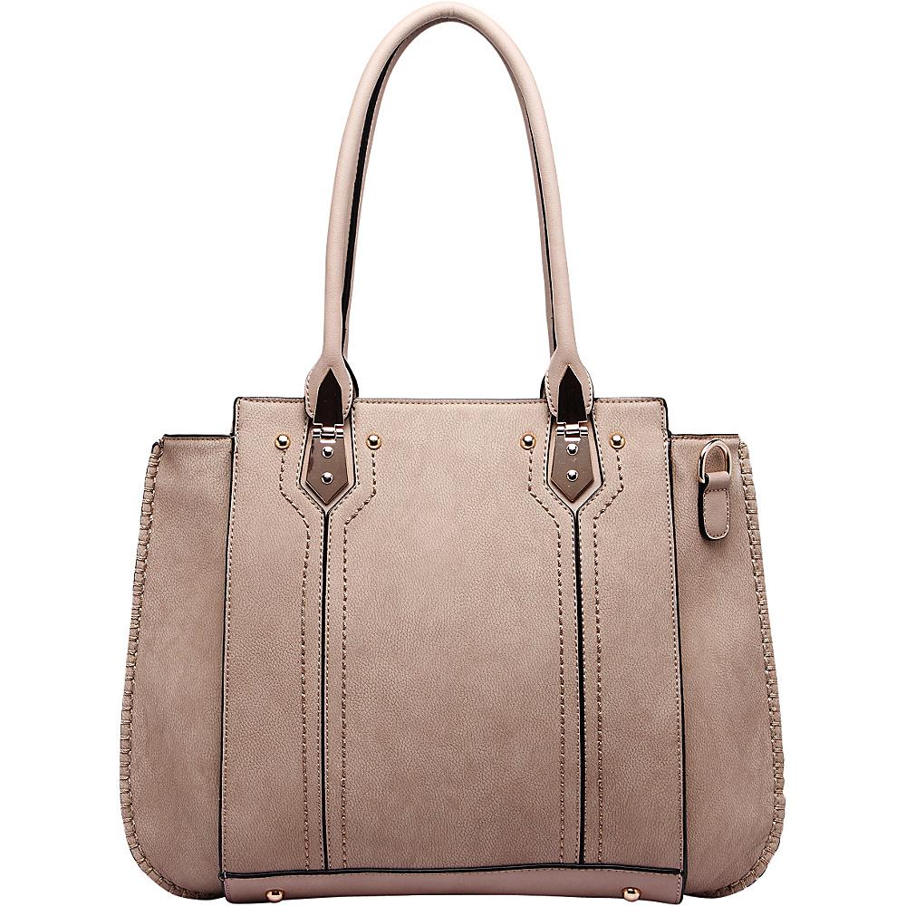 MKF Collection by Mia K. Farrow Cora Shoulder Bag Mud - MKF Collection by Mia K. Farrow Manmade Handbags - Handbags, Manmade Handbags
