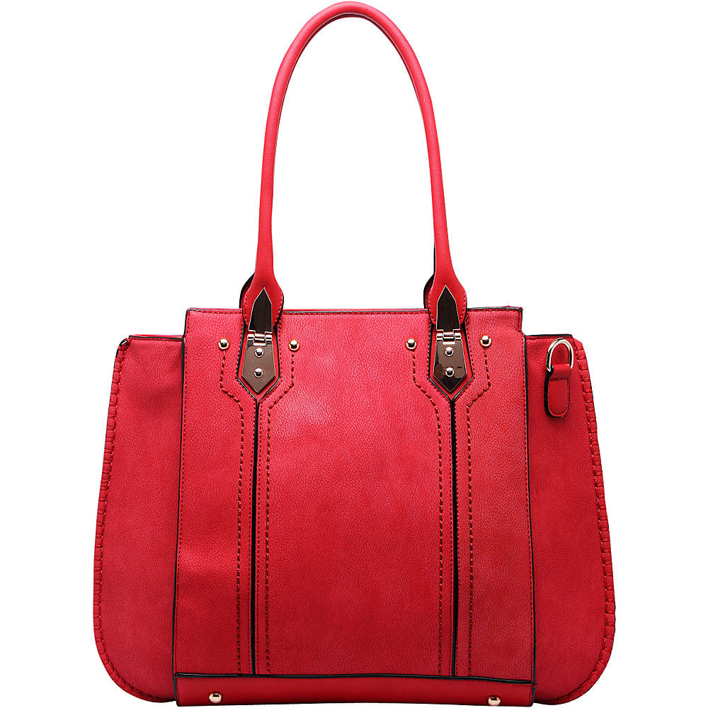 MKF Collection Cora Shoulder Bag Red - MKF Collection Manmade Handbags - Handbags, Manmade Handbags