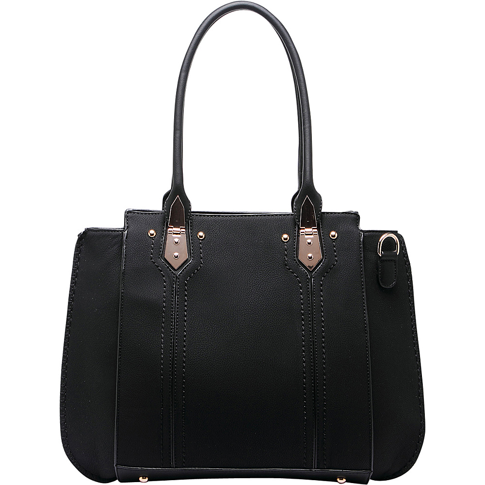 MKF Collection Cora Shoulder Bag Black - MKF Collection Manmade Handbags - Handbags, Manmade Handbags