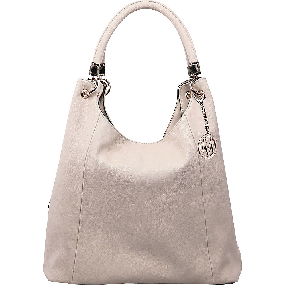 MKF Collection April Hobo Shoulder Bag Apricot - MKF Collection Manmade Handbags - Handbags, Manmade Handbags