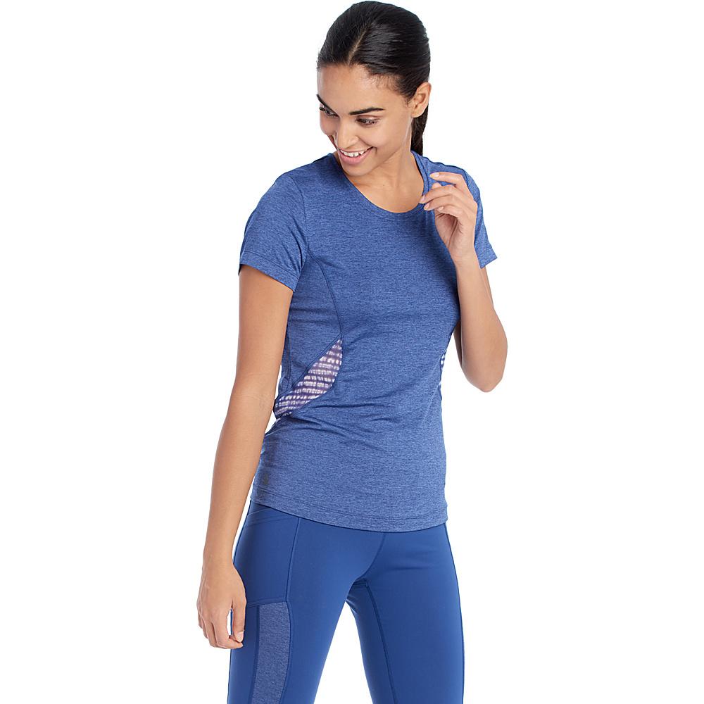 Lole Ailani Top XS - Twilight Blue Heather - Lole Womens Apparel - Apparel & Footwear, Women's Apparel