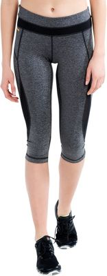 Lole Run Capris M - Black Noise - Lole Women's Apparel