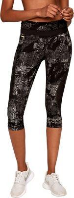 Lole Run Capris XL - Black Rumors - Lole Women's Apparel 10609510