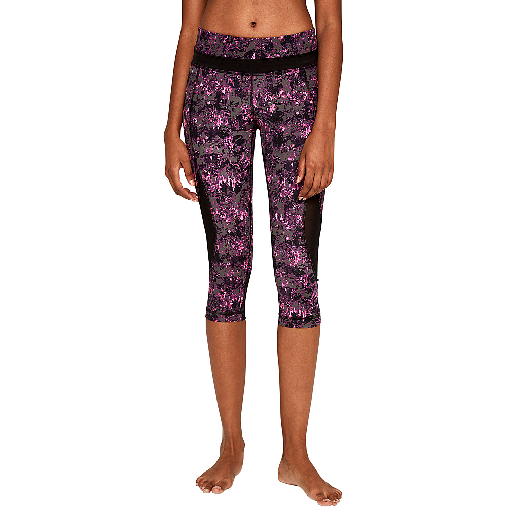 Lole Run Capris S - Hot Pink Hills - Lole Womens Apparel - Apparel & Footwear, Women's Apparel