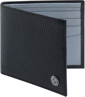 Rapport London Berkeley Leather Billfold Wallet Black - Rapport London Men's Wallets
