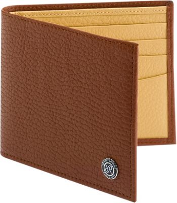 Rapport London Berkeley Leather Billfold Wallet Tan - Rapport London Men's Wallets