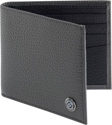 Rapport London Berkeley Leather Billfold Wallet Grey - Rapport London Men's Wallets