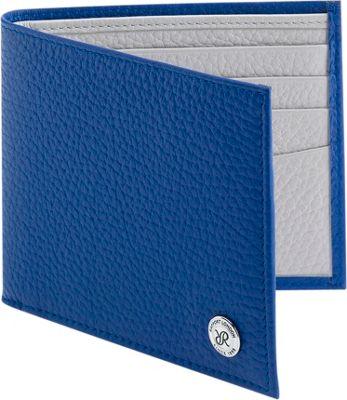 Rapport London Berkeley Leather Billfold Wallet Blue - Rapport London Men's Wallets