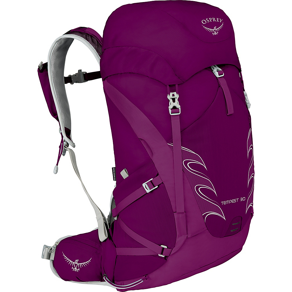 Osprey Womens Tempest 30 Hiking Pack Mystic Magenta – WS/M - Osprey Backpacking Packs - Outdoor, Backpacking Packs