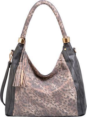 Mellow World Nova Hobo Black - Mellow World Manmade Handbags