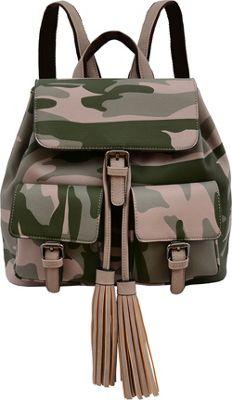 Mellow World Brandy Backpack Green - Mellow World Manmade Handbags