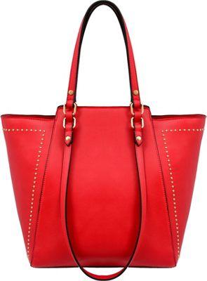 Mellow World Marina Satchel Red - Mellow World Manmade Handbags