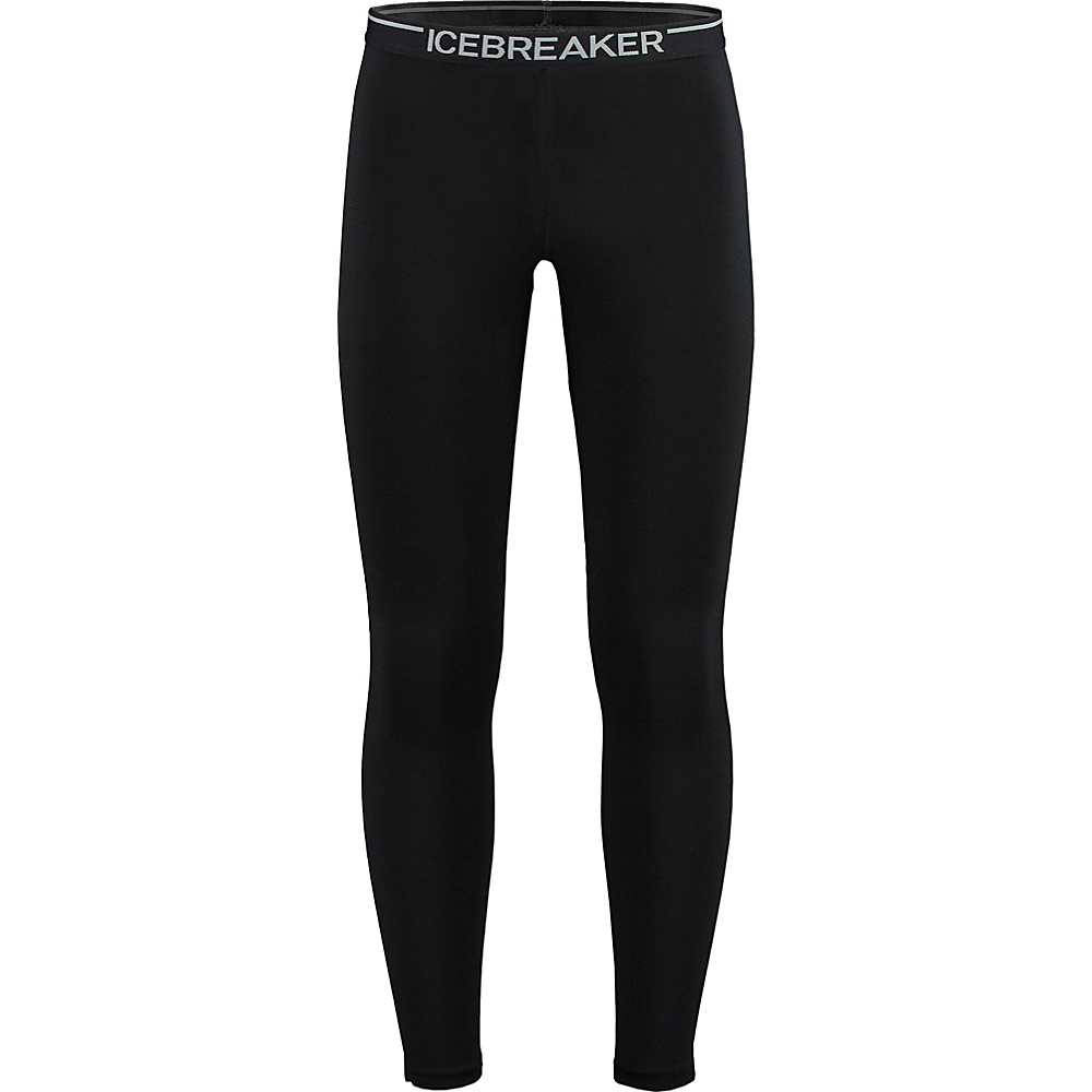 Icebreaker Mens Zone Legging XXL - Black/Monsoon/Black - Icebreaker Mens Apparel - Apparel & Footwear, Men's Apparel