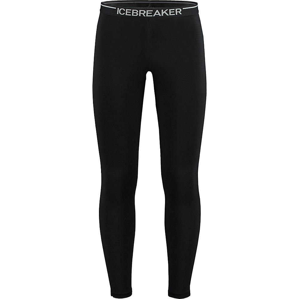 Icebreaker Mens Zone Legging S - Black/Monsoon/Black - Icebreaker Mens Apparel - Apparel & Footwear, Men's Apparel