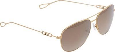 Elie Tahari Sunglasses Metal Aviator with Wire Temples Sunglasses Gold - Elie Tahari Sunglasses Eyewear